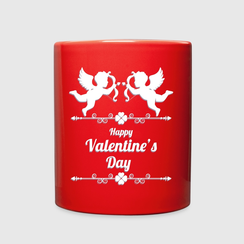 valentines day 2 cupid - Full Color Mug