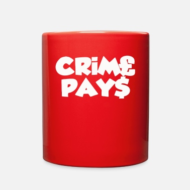 Pay CRIME PAYS - Full Color Mug