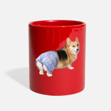 Corgi, Apple Bottom Jeans - Full Color Mug