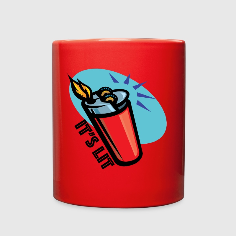 It's Lit retro lighter - Full Color Mug