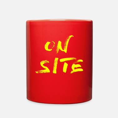 Yell ON SITE yell - Full Color Mug