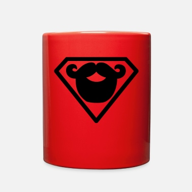 Superman Superman beard - Full Color Mug