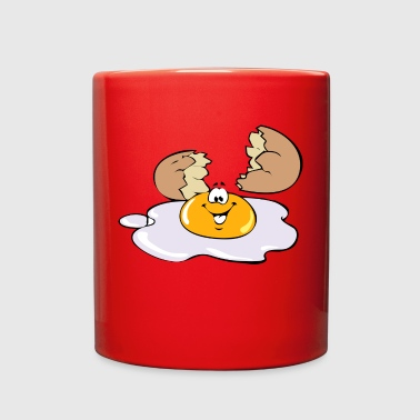 egg broken - Full Color Mug