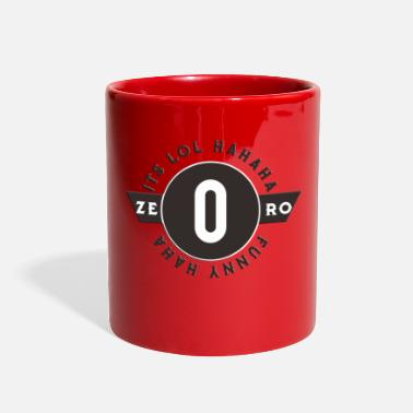 Zero ZERO - Full Color Mug