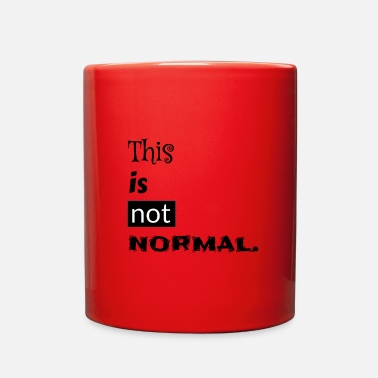 Typo This is not normal typo in black - Full Color Mug