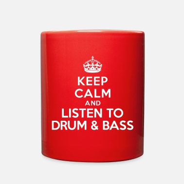 Keep Calm &amp Keep calm listen to Dnb - Full Color Mug