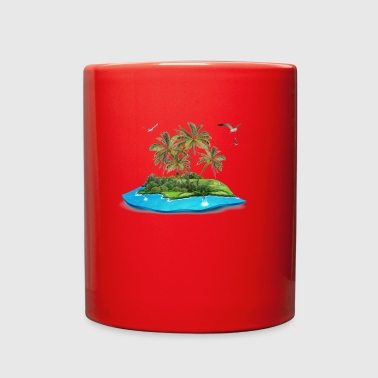 island - Full Color Mug