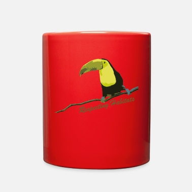Habitat Tropical Toucan Respecting Habitats - Full Color Mug