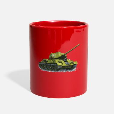 Russian Russian Tank - Full Color Mug