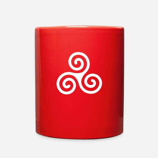 Celtic Mugs & Drinkware - Celtic - Full Color Mug red
