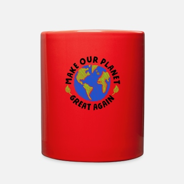 Greenpeace make our planet great again - Full Color Mug