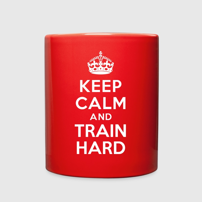Keep calm and Train Hard - Full Color Mug