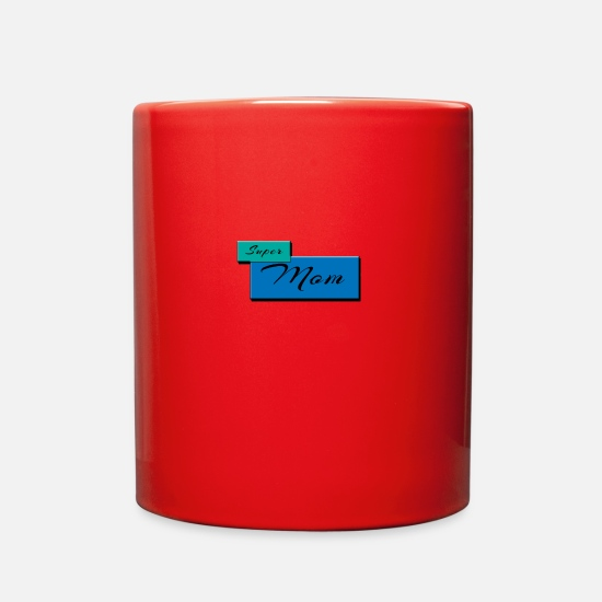 Day Mugs & Drinkware - Mother day - Full Color Mug red