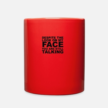 Rude Rude Slogan - Full Color Mug