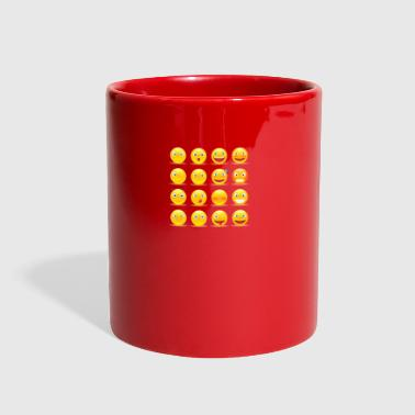set of emoticons - Full Color Mug
