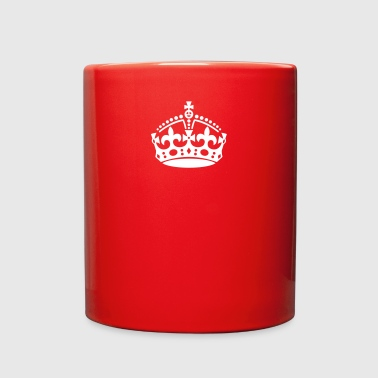 Keep Calm british crown - Full Color Mug