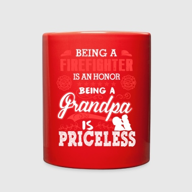 Firefighter Is Honor Grandpa Is Priceless T Shirt - Full Color Mug