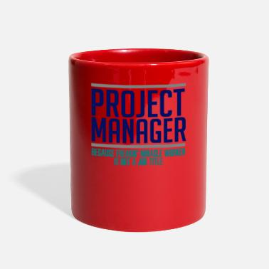 Manager Project Manager - Full Color Mug