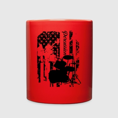 Percussion Flag Mug - Full Color Mug