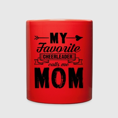 My Favorite Cheerleader Calls Me Mom Mug - Full Color Mug