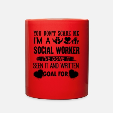 Social I Am A Social Worker Mug - Full Color Mug