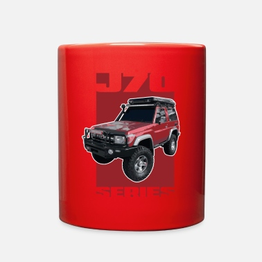 Toyota J70 Series Toyota Landcruiser - Full Color Mug