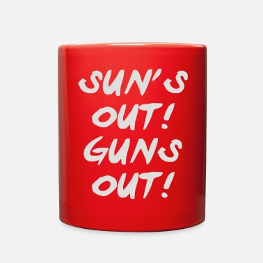SUN S OUT GUNS OUT - Full Color Mug