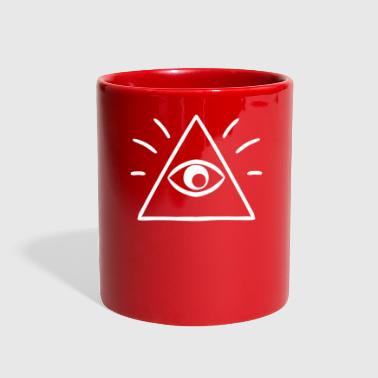 The All Seeing Eye Sees You - Full Color Mug