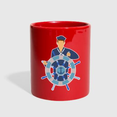 Seaman sailor anchor navigate career gift idea - Full Color Mug