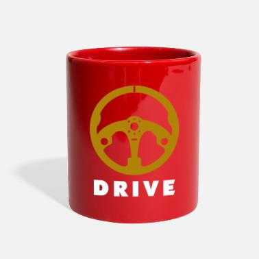 Motor Race Steering Wheel Motor Car Race - Full Color Mug