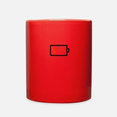 Mobile Phone Mobile phone battery empty - Full Color Mug