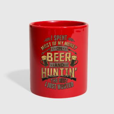 Real Men Love Hunting and Cold Beer - Full Color Mug
