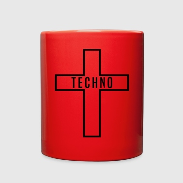 Techno TECHNO - Full Color Mug