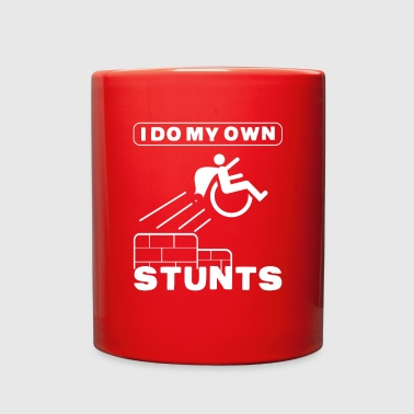 Wheely Stunts Awesome Wheelchair Gift - Full Color Mug