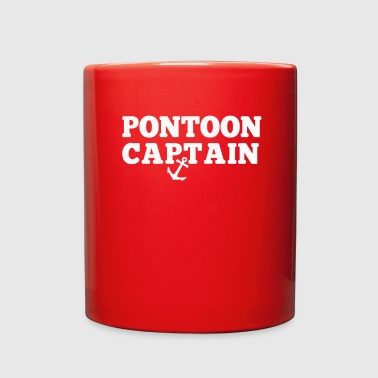 Pontoon Captain Pontoon Boat Lake Gift - Full Color Mug