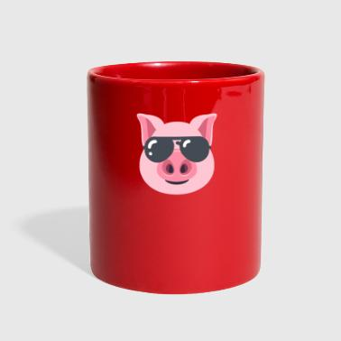 Pig with Sunglasses - Full Color Mug