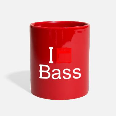 Dj &amp I love Bass - Full Color Mug