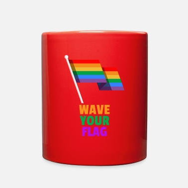 Rainbow Flag Rainbow Flag - Full Color Mug