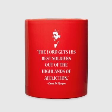 Lord Gets Best Soldiers Highlands Affliction Quote - Full Color Mug