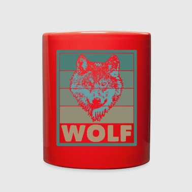 Wolf Wolf - Full Color Mug
