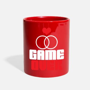 Game Over GAME OVER - Full Color Mug