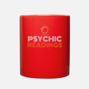 Psychic Your Friendly Psychic Tshirt Design psychic readings - Full Color Mug