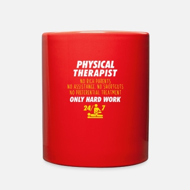 Therapy Cool Physical Therapist Hard Work - Full Color Mug