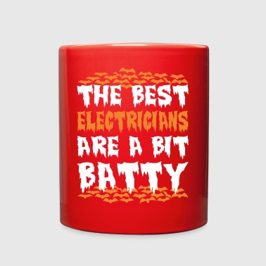 Halloween The Best Electricians Are A Bit Batty - Full Color Mug
