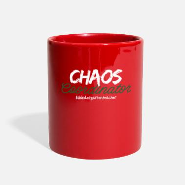 Care Coordinator Funny Chaos Coordinator Kindergarten Teacher - Full Color Mug