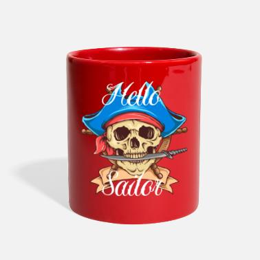 Pirate Skull - Full Color Mug