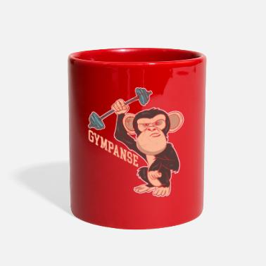 Gympanse fitness joke - Full Color Mug