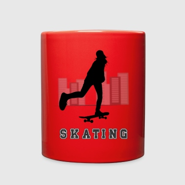 SKATING - Full Color Mug