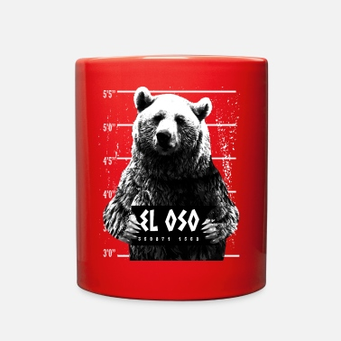 Animal Print Animal Print - El Oso - Full Color Mug