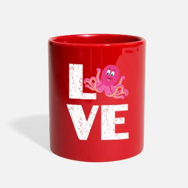 For Octopus Lovers I love Octopus - Full Color Mug